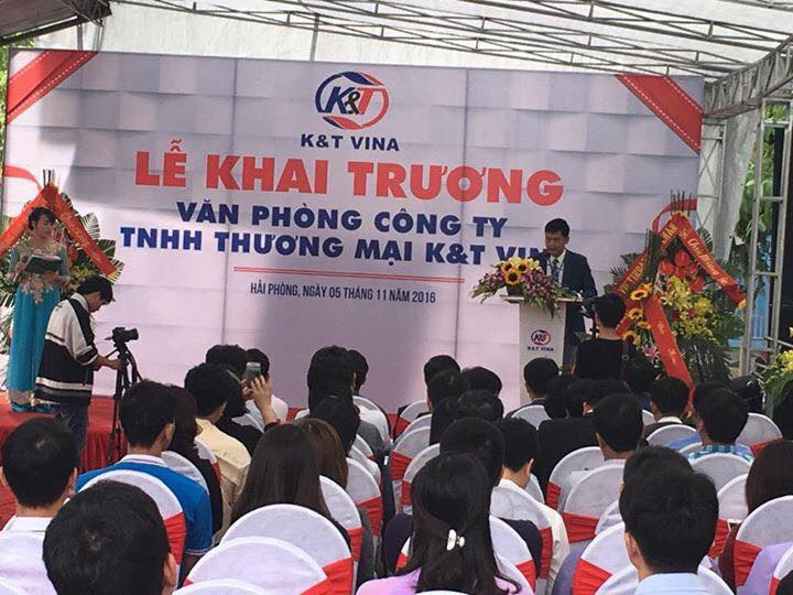 Công ty TNHH TM K&T Vina Tầng 1 CC1, khu đô thi PG An Đồng, An Dương