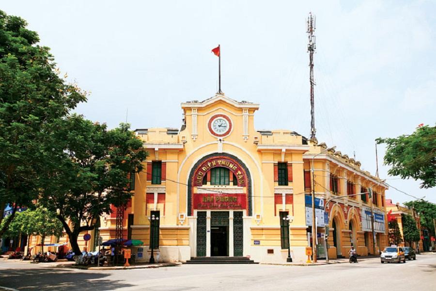 BƯU ĐIỆN THÀNH PHỐ HẢI PHÒNG Số 5 Nguyễn Tri Phương - Hồng Bàng  - TP.Hải Phòng